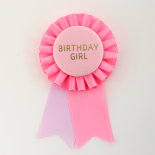 ロゼット BIRTHDAY GIRL PInk/Light Pink/Lavender