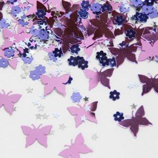 コンフェッティ Butterflies & Flowers