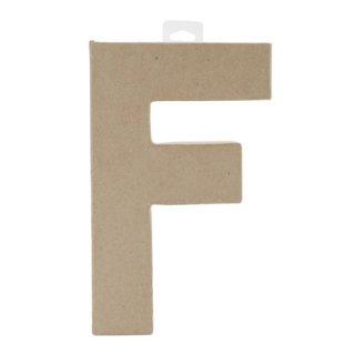 ペーパーマッシュ アルファベット F