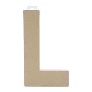 ペーパーマッシュ アルファベット L