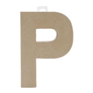 ペーパーマッシュ アルファベット P