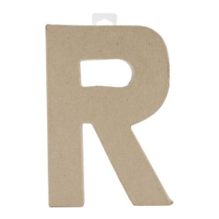 ペーパーマッシュ アルファベット R