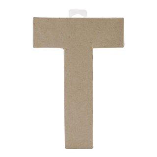 ペーパーマッシュ アルファベット T