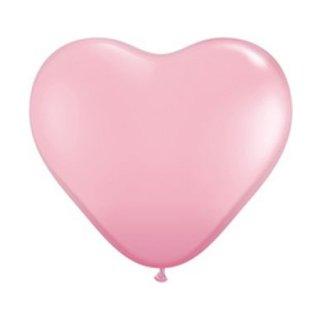 15インチ ハートバルーン ピンク