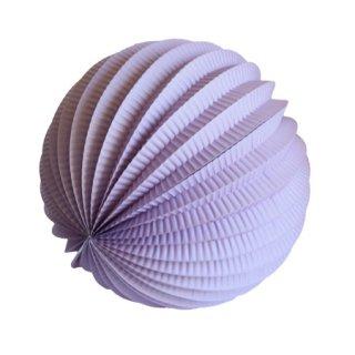 ペーパーアコーディオンボール 20cm | Lilac