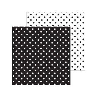 12インチペーパー | Petite Swiss Dot Black