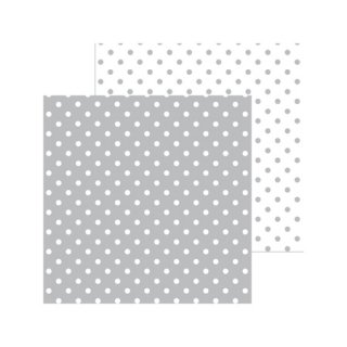 12インチペーパー | Petite Swiss Dot Stone Gray