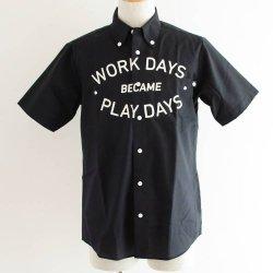 PLAYDESIGN (プレイデザイン)  THE PRINT BD SS SHIRTS (ザプリントBD SSシャツ) BLACK