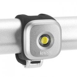 knog(ノグ) Blinder Lights-1  STANDARD(ブラインダー ライト1 スタンダード)シルバー フロントライト