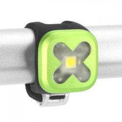 knog(ノグ) Blinder Lights-1  CROSS(ブラインダー ライト1 クロス) ライム フロントライト