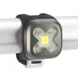 knog(ノグ) Blinder Lights-1  CROSS(ブラインダー ライト1 クロス) ガンメタル フロントライト