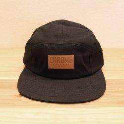 CHROME (クローム) CANVAS FIVE PANEL HAT (キャンバスファイブパネルハット) Black