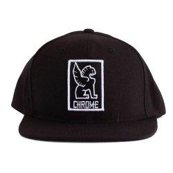 CHROME (クローム) SNAPBACK CAP (スナップバックキャップ) Black/White