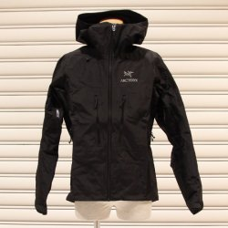 ARC'TERYX (アークテリクス)  Alpha SV Jacket (アルファSVジャケット) Black
