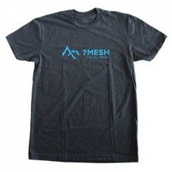 7mesh (セブンメッシュ) 7mesh Logo T-Shirt (ロゴTシャツ) Chacoal チャコール グレー