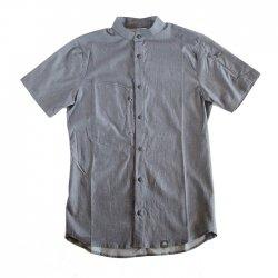 KLATTERMUSEN (クレッタルムーセン) Lofn Shirt Short Sleeve (ロフンシャツ ショートスリーブ) StormBlueMelange