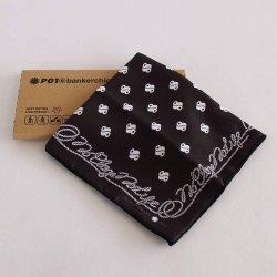 PLAYDESIGN(プレイデザイン) bankerchief(バンカチーフ) Black Rope
