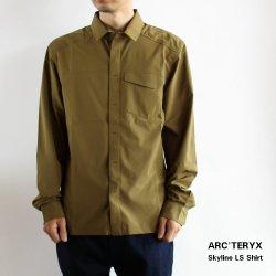 <img class='new_mark_img1' src='https://img.shop-pro.jp/img/new/icons14.gif' style='border:none;display:inline;margin:0px;padding:0px;width:auto;' />ARC'TERYX (アークテリクス) Skyline LS Shirt (スカイライン ロングスリーブ シャツ) Men's Roman Pine