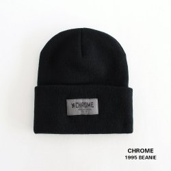 CHROME (クローム) 1995 BEANIE (1995ビーニー) Black 【メール便対応】