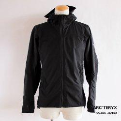 ARC'TERYX (アークテリクス) Solano Jacket (ソラノ ジャケット) Men's Black