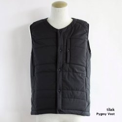tilak (ティラック) PYGMY Vest (ピグミー ベスト) Black Pertex Microlight/ClimaShield APEX