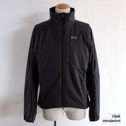 tilak (ティラック)  Verso Jacket (ベルソー ジャケット) Black/Black
