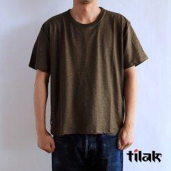 tilak (ティラック) POUTNIK MONK Tee (ポートニック モンクTシャツ) Olive オリーブ