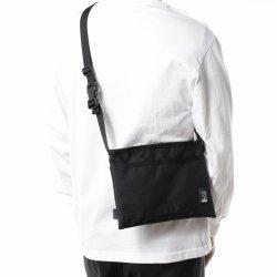 CHROME (クローム) MINI SHOULDER BAG(ミニ ショルダー バッグ) Black/Black