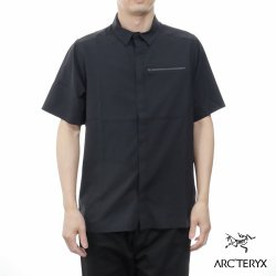 ARC'TERYX(アークテリクス) Skyline SS Shirt Mens(スカイラインシャツ ショートスリーブ シャツ) Black