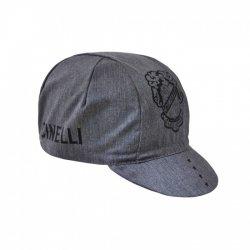 Cinelli(チネリ) CREST CAP (クレストキャップ) DENIM GREY サイクルキャップ 【メール便対応】