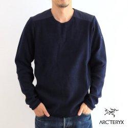 ARC'TERYX (アークテリクス) Donavan Crew Neck Sweater(ドノバン クルーネック セーター) Mens Kingfisher