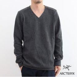 ARC'TERYX(アークテリクス) Donavan V-Neck Sweater(ドノバン Vネック セーター) Mens Dark Grey Heather