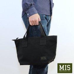 MIS(エムアイエス) MINI TOTE BAG(ミニトートバック) Black