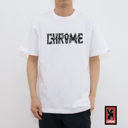 CHROME(クローム) RAYS OF HOPE FOR THE CITY TEE WHITE