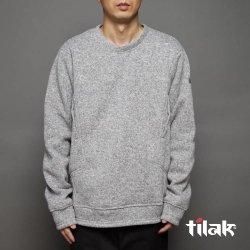 tilak(ティラック) POUTNIK Sage Woolly Sweatshirts(セージウーリースエットシャツ) LightGreyMelange