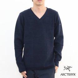 ARC'TERYX(アークテリクス) Donavan V-Neck Sweater(ドノバンVネックセーター) Mens KingfisherII