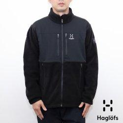 HAGLOFS(ホグロフス) Combiation Fleece Jacket(コンビネーションフリースジャケット) Black/Black