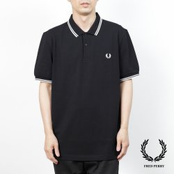 <img class='new_mark_img1' src='https://img.shop-pro.jp/img/new/icons14.gif' style='border:none;display:inline;margin:0px;padding:0px;width:auto;' />Fred Perry(フレッドペリー)  M3600  524(BLACK/PORCELAIN/PORCELAIN)