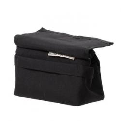 OUTER SHELL ADVENTURE(アウターシェルアドベンチャー) Drawcord Handlebar Bag Black