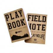 PLAYDESIGN (プレイデザイン) FIELD PLAY NOTEBOOK (フィールドプレイノートブック) 3冊セット