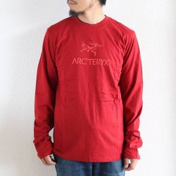 ARC'TERYX(アークテリクス)   Bird Word T-Shirt LS   Oxblood