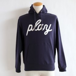 PLAYDESIGN(プレイデザイン)  HOODED SWEAT L B  NAVY