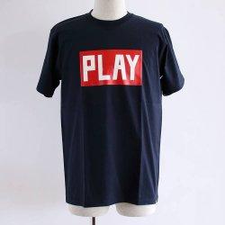 PLAYDESIGN (プレイデザイン)   S/SPRINT TEE E  ネイビー