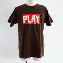 PLAYDESIGN (プレイデザイン)   S/SPRINT TEE E  ブラウン