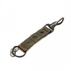 hobo(ホーボ)  Nylon Tape Key Ring with Eyelet  OLIVE 【メール便対応】