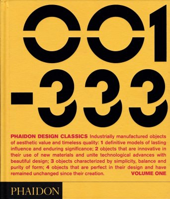 PHAIDON DESIGN CLASSICS  VOLUME ONE(001-333)-VOLUME TWO(334-666)-VOLUME THREE(667-999) 3巻セット