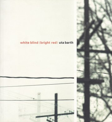 white blind (bright red) / uta barth