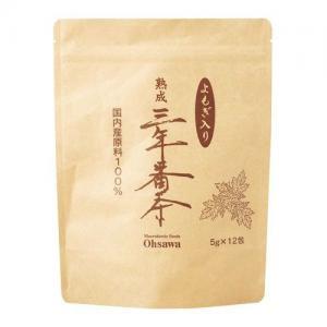 よもぎ入り熟成三年番茶(分包)(60g(5g×12包))