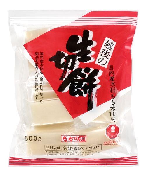 <b>国内産もち米でつくった生切餅600g 5袋</b>
