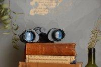 フランスアンティーク◇古い双眼鏡/オペラグラス/革製オブジェ/インテリア/店舗什器/ディスプレイ/フレンチヴィンテージ/ビンテージ雑貨(a4800235)